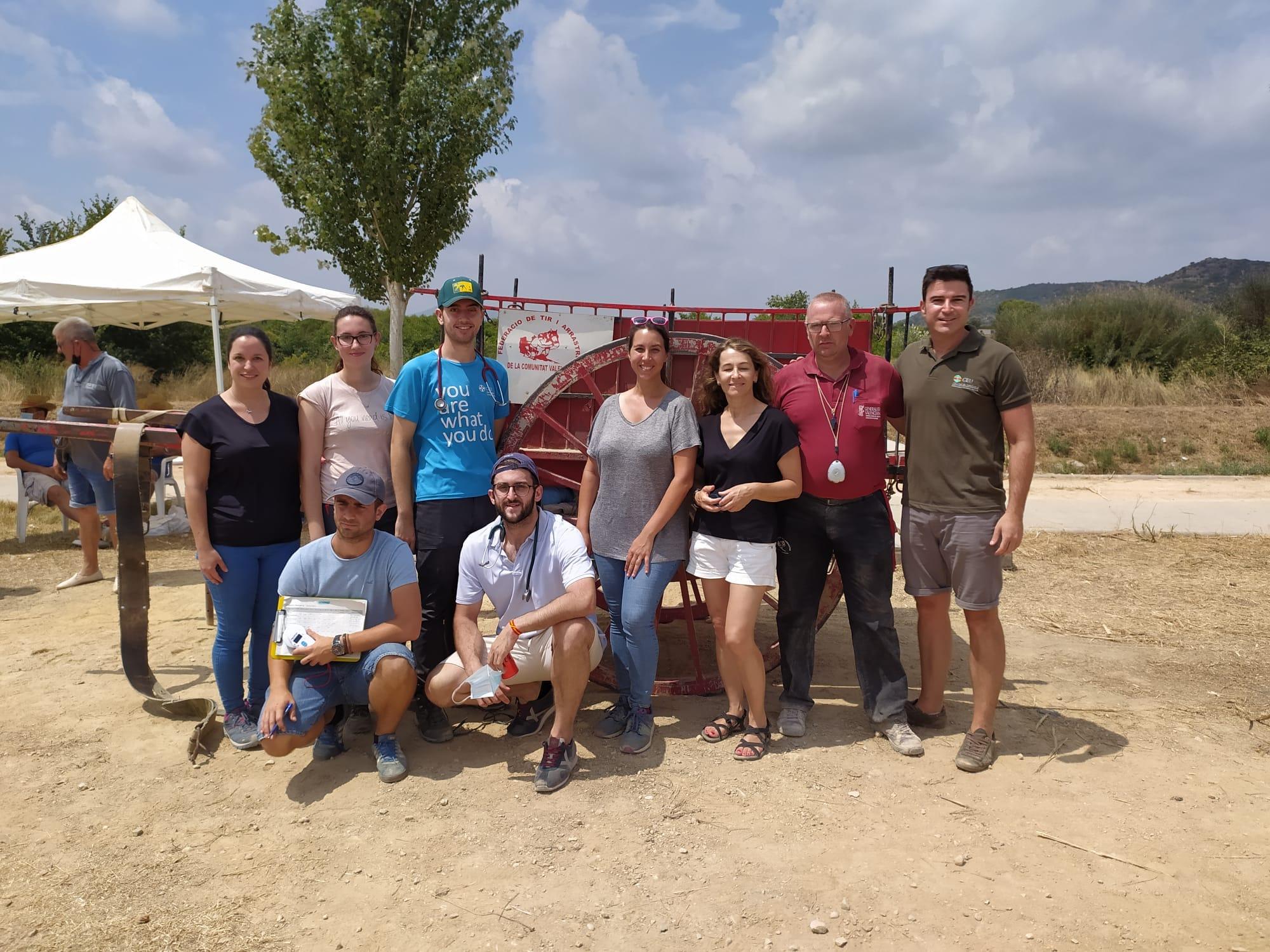 Agraïments als veterinaris del CEU